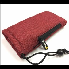 Padded Pipe Pouch with Zipper Pocket