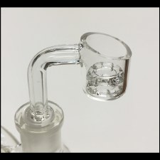 Diamond Knot Quartz Banger 14mm Female