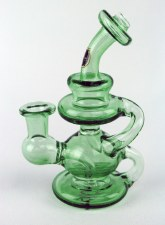10mm Green Stardust Klein Recycler Oil Rig