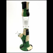 Camo Silicone Water Pipe