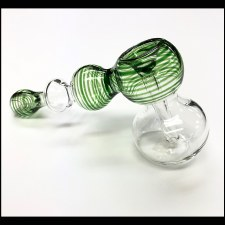 Clear Hammer Bubbler