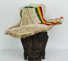 Rasta Hemp Hat with Brim