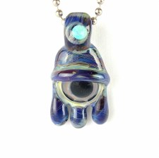 Third Eye Opal Pendant Strippe