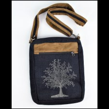 Tree of Life Shoulder Bag Blue