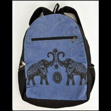 Good Luck Elephant Backpack Bl