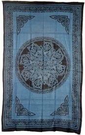 Celtic Knot Blue Tapestry