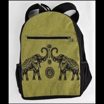 Good Luck Elephant Backpack Gr