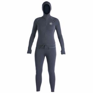 Airblaster Womens Classic Ninja Suit-Black-XS