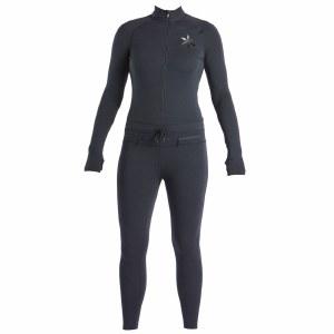 Airblaster Womens Hoodless Ninja Suit-Black-XL