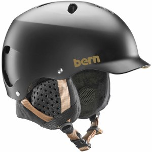 Bern Lenox w/ MIPS Helmet Womens-Satin Black-S