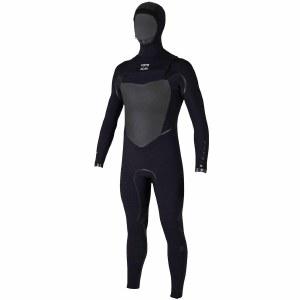 Billabong 403 Furnace Carbon X Hooded Full Suit Chest Zip-Black-M