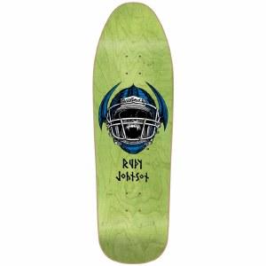 Blind Johnson Jock Skull Screenprinted Skateboard Deck-9.875