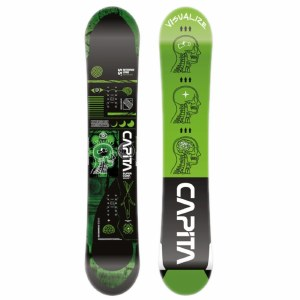 Capita Mens Outerspace Living Snowboard-NA-155W