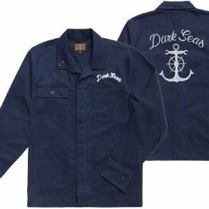 Dark Seas Carser Jacket-Dark Navy-M