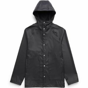 Herschel Womens Rainwear Classic Jacket-Black-S