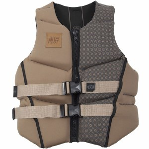 Jetpilot CCGA Scout Life Vest-Black/Tan-XL