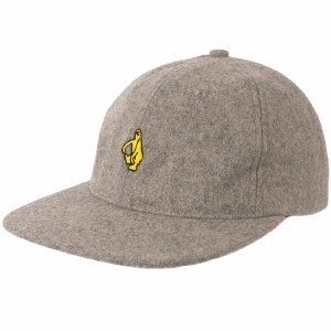 Krooked Shmolo Emb Strapback Hat-Heather Grey-OS