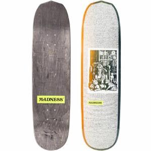 Madness Desiree R7 Skateboard Deck-White-8.375