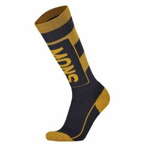 Mons Royale Mens Mons Tech Cushion Sock Sock-9 Iron/Gold-M