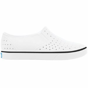 Native Miles Jr Shoe Kids-Shell White/Shell White-J1