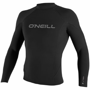 O'Neill Hammer Long Sleeve Crew 0.5MM-Black/Black-XL