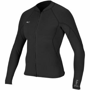 O'Neill Bahia Full Zip Jacket Womens-Black/Black/Black-6