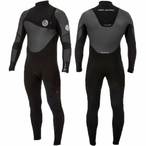 Rip Curl Mens FlashBomb Heatseeker 32GB ZF Surfsuit-Black-M
