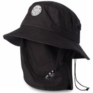 Rip Curl Mens Wetty Surf Hat Hat-Black-OS