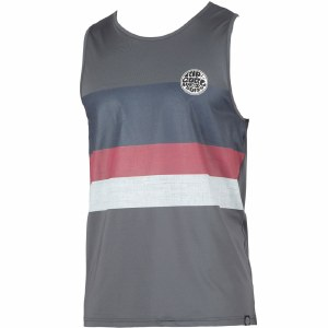 Rip Curl Surf Craft Tank Top-Charcoal-M