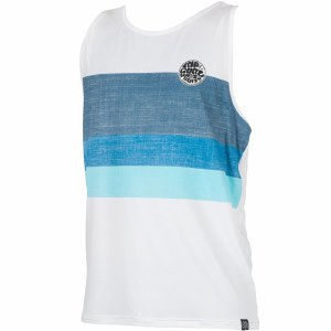 Rip Curl Surf Craft Tank Top-White-S