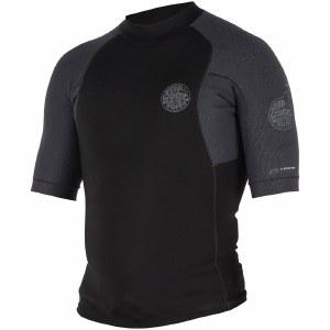 Rip Curl E Bomb Pro Short Sleeve Jacket-Black-L
