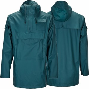 Rains Camp Anorak-Dark Teal-L/XL
