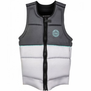 Ronix Supreme Athletic Cut Impact/CE Approved Vest-Grey-XL