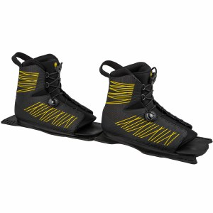 Radar Vector Ltd BOA Water Ski Boot-Rear Feather Frame-Yellow-Small