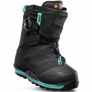 32 Jones MTB Snowboard Boot-Black/Blue/Purple-8.0