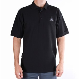 TOA Brandi Court Polo Shirt-Black-L