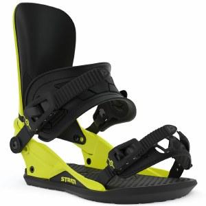 Union Strata Snowboard Binding-Hazard Yellow-S