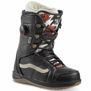 Vans Womens Ferra Pro Snowboard Boot-Mary Rand Black/Marshmallow-6.0