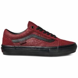 Vans Mens Skate Old Skool Shoe-Breana Geering/Port/Black-8