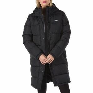 Vans Southfield Puffer Jacket MTE Womens-Black-S