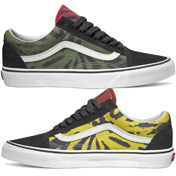 Vans Old Skool Shoe (Tie Dye)MultiBlack 8.5