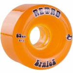 Abec 11 ErniesZ Skateboard Wheel-Amber-65mm/81A