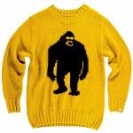 Airblaster Mens Sassy Sweater-Yolo-M