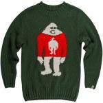 Airblaster Mens Sassy Sweater Crew Sweatshirt-Santa-S