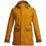 Airblaster Womens Storm Cloak Jacket-Dark Gold-L