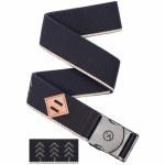 Arcade Belts Mens Blackwood Belt-Black/Khaki-OS