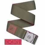 Arcade Belts Mens Rambler Sherpa Collab Belt-Green/Sherpa-OS