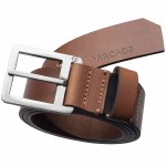 Arcade Belts Mens Padre Belt-Brown-M