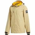 Adidas Mens Utility Jacket-Sand/Collegiate Gold-XL