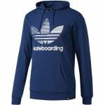 Adidas Clima 3.0 Hoody-Mystery Blue/White-L